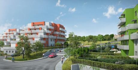 Prodej bytu, 2+kk, 61,76 m² s balkonem