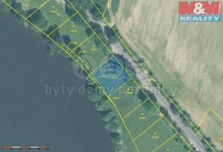 Prodej, stavební pozemek, 999 m2, OV, Jesenice, Cheb