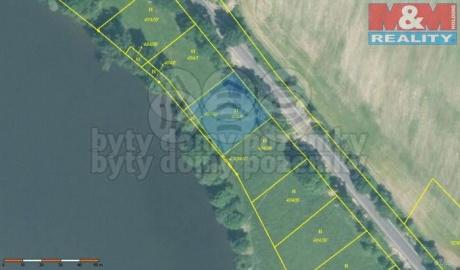 Prodej, stavební pozemek, OV, 1000 m2, Jesenice