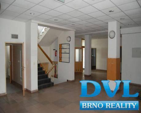 Kancelářské prostory 19-206 m2 - Brno - Černovice, ul. Hájecká.