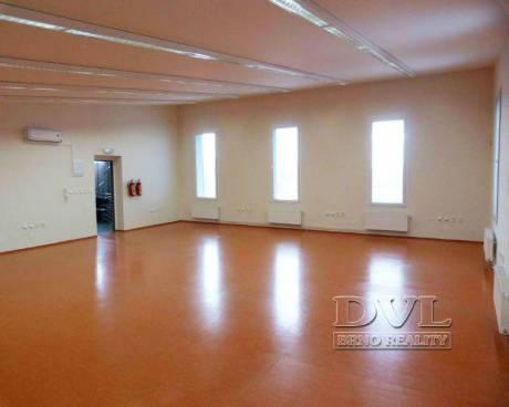 Pronájem kancelářských prostor 140 m2 - Popůvky u Brna - novostavba. Open space, parkování.