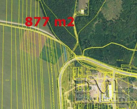 Pozemky - orná půda,  Brno-Žebětín. Výměry od 877 m2.