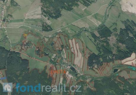Prodej pozemků Lhota u Sedla