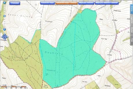 Prodej podílu na lesních pozemcích o celkové ploše 128 ha