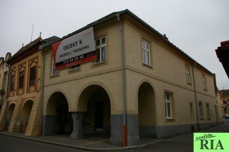 Čáslav - RD 3+kk s nebytovými prostory v centru města - hezké místo