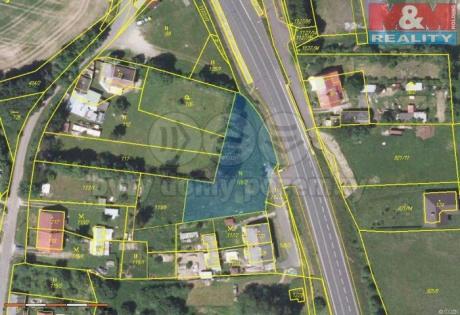Prodej, stavební parcela, 1537 m2, Přední Vojtanov