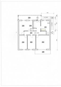 Pronájem 4+kk 114 m2 po rekonstrukci