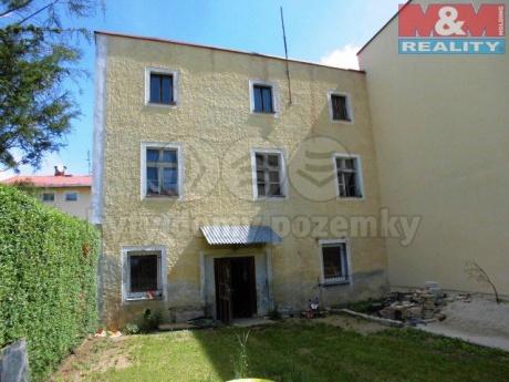 Prodej, rodinný dům, 731 m2, Mariánské Lázně, ul. Palackého