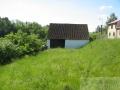 Exkluzivně, prodej st. parcely 1205m2 se stodolou, obec Bechyně-Plechamr!