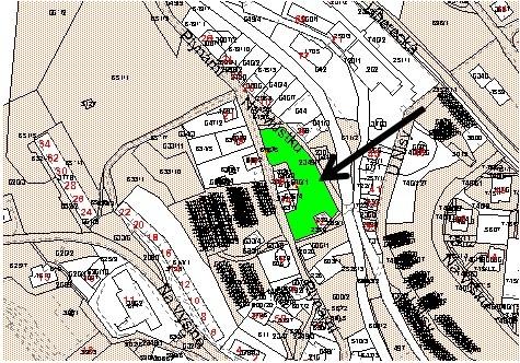 Prodej stavebního 720 m2, Jablonec nad Nisou
