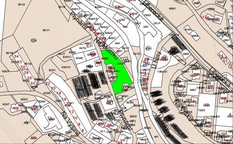 Prodej stavebního pozemku 1.300 m2, Jablonec nad Nisou