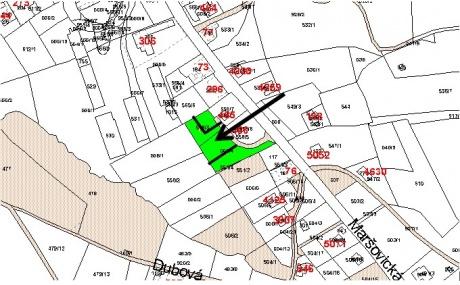Prodej stavebního pozemku 1.150 m2, Jablonec nad Nisou - Kokonín