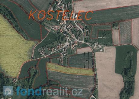 Prodej pozemku Kostelec