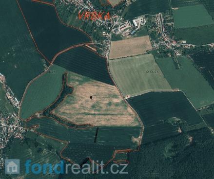 Prodej zemědělských pozemků Vrbka u Sulimova