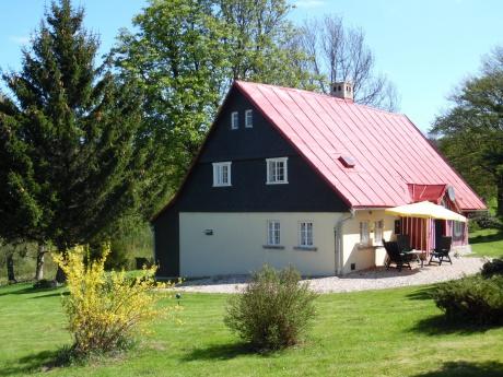 Prodej RD, 4+1, pozemky 15.600 m2, Maršovice, Jablonec n. N.