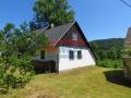 Prodej rekreační chalupy s výhledem na lesy, Křížovice u Plánice, okr. Klatovy