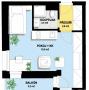 Prodej, Byt 1+kk, Balkon 3 m2, terasa 11 m2, celkem 51 m2 , Praha Hostivař, Hornoměcholupská - 1