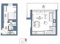 Prodej, Mezonetový byt 2+kk,59,2 m2 , terasa 12 m2, Baranova, Praha Žižkov - 4