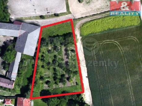 Prodej, zahrada, 2077 m2, Křelov, Břuchotín