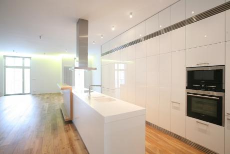 Pronájem nádherného bytu 3+kk/B, 116 m2, Praha 3, Laubova ulice