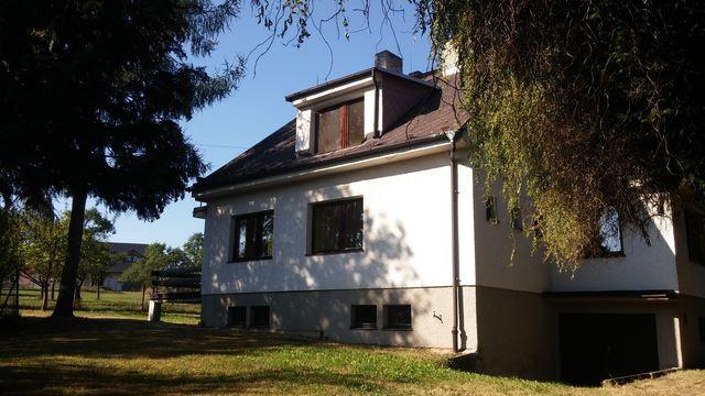 Prodej RD, 2x 3+1, 200m2, pozemek 1866m2, zahrada, garáž, podsklepeno, Chrudim - Vrbatův Kostelec