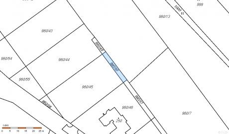 Pozemek stavební - Nebílovy - 1.145 m - 1.145.000,- Kč