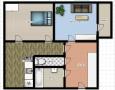 Prodej 2+1 s balkónem, 62m2