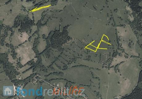 Prodej pozemků - Milíře u Šindelové