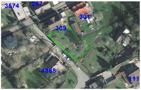 Prodej pozemku 675 m2, Mšeno nad Nisou