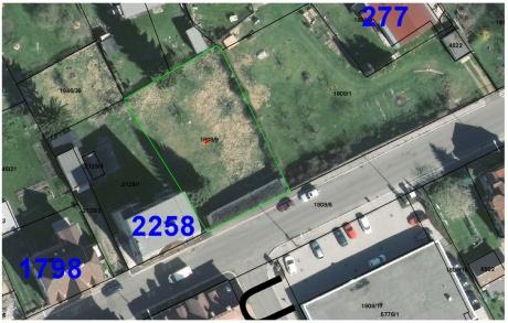 Prodej pozemku 815 m2, Jablonec nad Nisou
