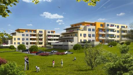 Viladomy Dubeč - Nové byty s výhledem na vilovou čtvrť