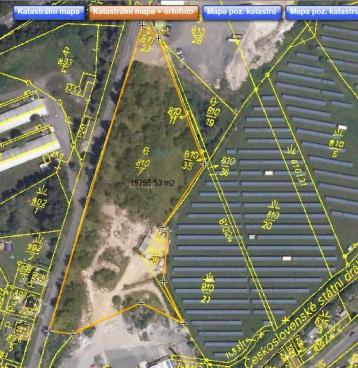 Prodej stavebního pozemku 16.000 m2 pro komerční využití 25 km od Liberce