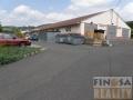 Výrobně skladovací areál s rozsáhlými zpevněnýmí plochami v Chuderove, okr. Ústí nad Labem