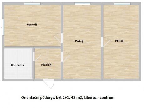 Sale, Flats, 2+1, 48m<sup>2</sup>