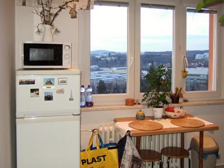 Pronájem bytu 2+1,  55 m2, náměstí SNP, Brno - Černá Pole