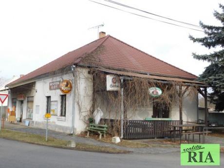 Kanín 12km od Poděbrad, rodinný dům s nebytovým prostorem - možnost komerčního využití