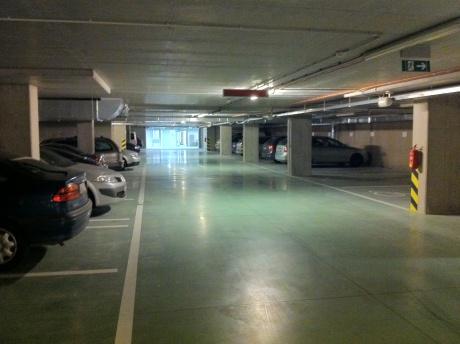 Pronájem garážového stání v centru Brna