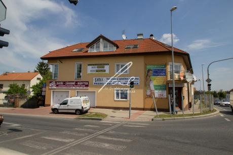 Obchodní prostory 2+G, o celkové ploše 100m2 v novostavbě v Praze 5 - Zličín, ul. Na Radosti.