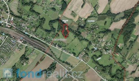Prodej pozemků Dolní Marklovice