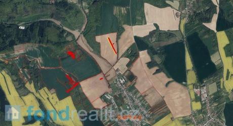 Prodej pozemků Traplice