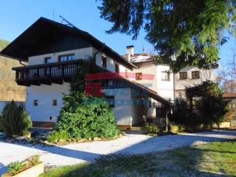 Prodej plně funkčního rekreačního areálu s penzionem v Rejštejně, Šumava