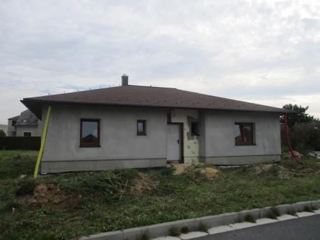 Prodej rozestavěného RD - bungalov v Kobeřicích, okr. Opava
