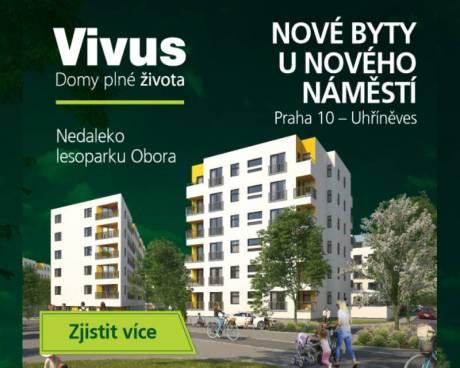 Prodej bytu 3+kk, 69,14 m² s lodžií 4,58 m² v projektu Uhříněves III.