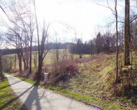 Pozemek zahrádka u Rožmitálu na Šumavě