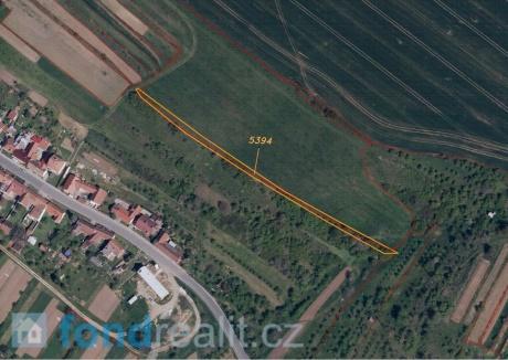 Prodej pozemku Drslavice
