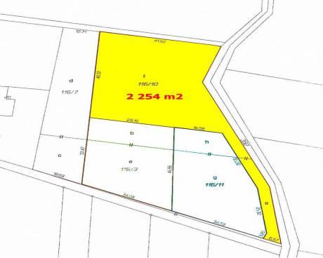 Prodej Stavební pozemek, 2.254 m2, Pazderna