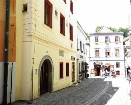Historický dům s restaurací v Českém Krumlově