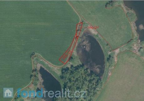 Prodej pozemků Borovná