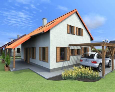 Prodej novostavby rodinného domu, 5+kk, Pazderna