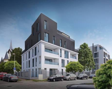 Nové byty Dvořákova - Vila Armida 2. etapa, Olomouc  (úřední čtvrť - centrum)